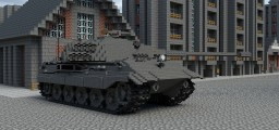 German E75 Standard panzer (10:1) Minecraft Project