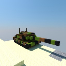 Leopard 2A6 Minecraft Project