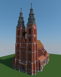 St. Mary Magdalene Church in Wrocław (Before WW2) [Aliquam] Minecraft Project