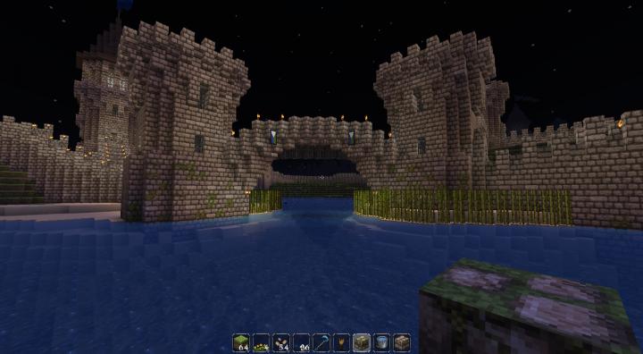 Castle Walls Minecraft Map