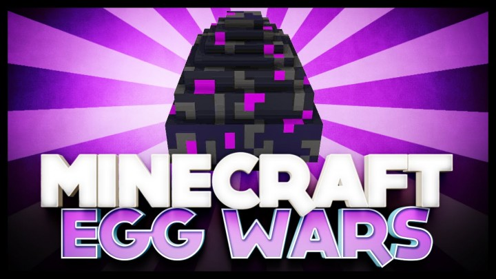EggWars (Complete with Commands) Minecraft Map