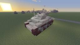 R.D.O StaG I light tank Minecraft Project