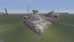 R.D.O StaG V Medium tank Minecraft Project