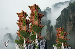 Chinese Tower Minecraft Map & Project