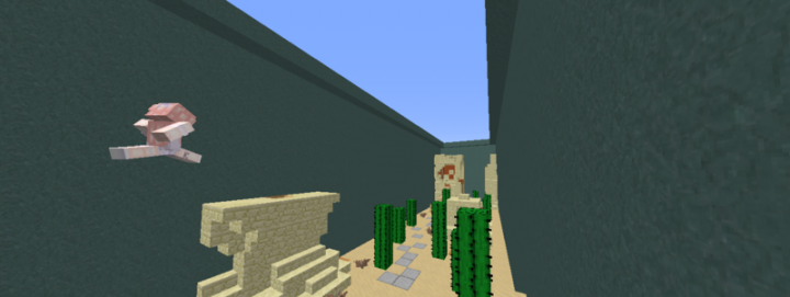 One of the many custom Minigames at SentinelCraft!
