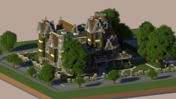 The Anderson Mansion - 1900's Victorian Style Minecraft Project