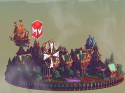 Averis | Skyblock spawn Minecraft Project
