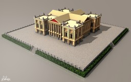 baroque palace Minecraft Project