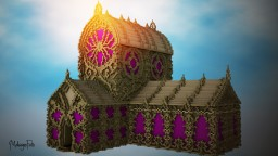 The lost enchanted Cathedral Minecraft Project