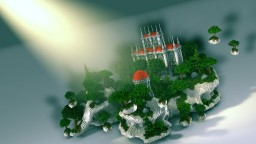 Sky castle - Minecraft hub Minecraft Project