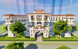 Roman Hanging Garden Minecraft Project