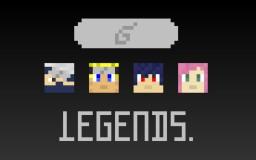 [BETA v1.1] [1.11.2] The Legend of the Hidden Leaf 2.0 - Naruto Resource Pack (Revived) Minecraft
