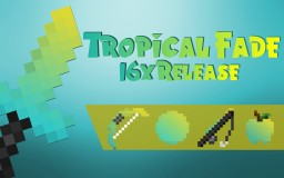 Tropical Fade 16x Pvp Pack Release! [PotPvp, Skywars, Bedwars, More!] Minecraft Texture Pack