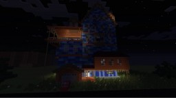 hello HelloNeighbor alpha1(mods decocraft bibliocraft carpetblocks mod and custom ncps mod) Minecraft Map & Project