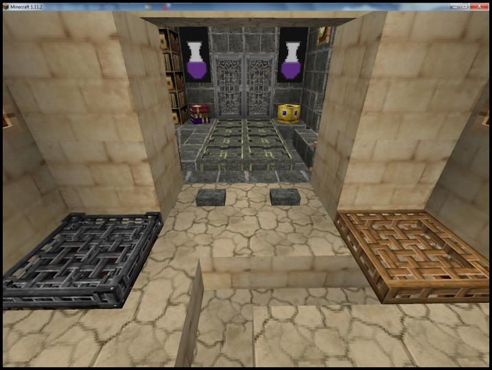 3D trap doors, Chisled Bricks and 3D Iron Doors