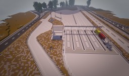 Truck stop and rest area | IAS - Architects MC Minecraft