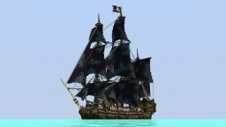 The legendary cursed pirate ship. Minecraft Project
