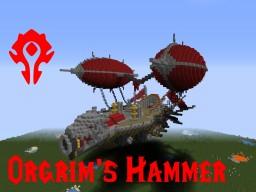 Orgrim's Hammer - Horde Gunship Minecraft