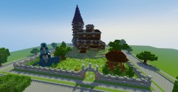 Country Mansion - Behind the Picket Fence Contest Minecraft Project