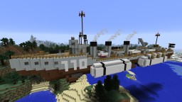 Admirality-M-Class Airship Destroyer Minecraft Project