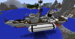 Submarine Chaser No. 13 - Class Airship Minecraft Project