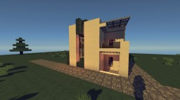 Modern Buildings#2 Small House Minecraft Project