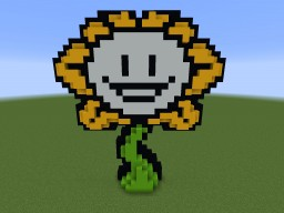 Flowey The Flower Minecraft Map & Project