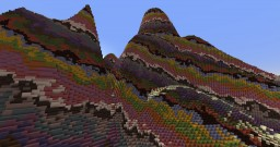 colorfull mesa world Minecraft Project
