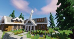 The Spruce  |  Suburban House Minecraft Map & Project