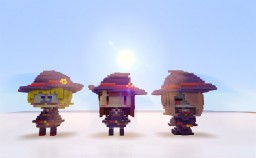 Little witch academia characters Minecraft Project