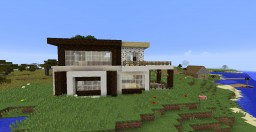 Mini Coast House Minecraft Project