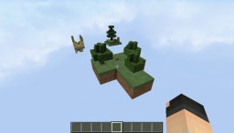 ma premiere map skyblock Minecraft Project