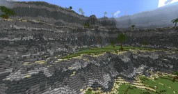 tropical cliffs Minecraft Project
