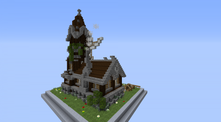 Meval Rustic Windmill + Schematic Minecraft Project on read notes, read codes, read blueprints,