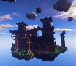 Japanese Factions Spawn Minecraft Map & Project
