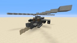 Boeing AH-64 Apache Helicopter Minecraft Project