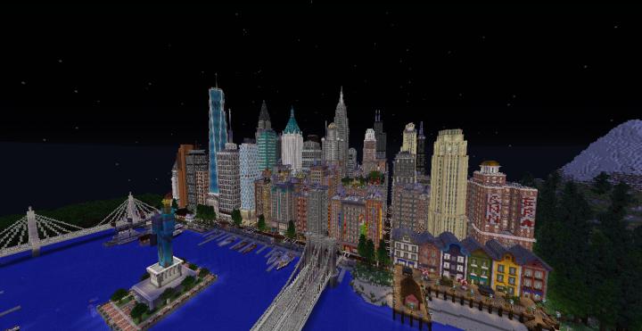Midtown Patriotville Skyline