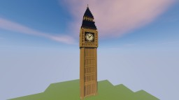 Big Ben 1.4 : 1 Scale Minecraft Map & Project