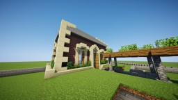 Traditional Visitor Center Minecraft Map & Project