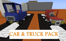 Car & Truck Pack Minecraft Texture Pack