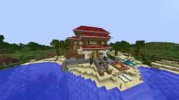 JSQ Beach House Minecraft Map & Project