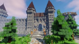 Nouvelle ephrosia , a medieval city Minecraft Map & Project