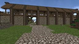 Skyrim Riverwood Minecraft Map & Project