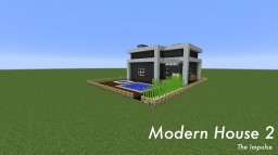 Modern House 2 - The Impulse Minecraft Map & Project