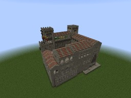 REQUESENS PALACE  (palace from barcelona) Minecraft Project
