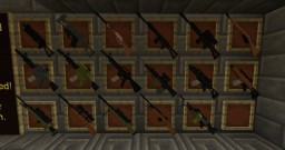 Custom Guns - 34 Total Minecraft Texture Pack