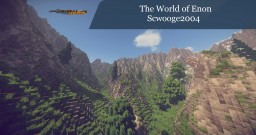 The World of Enon - 6.5Kx4.5K - #WeAreReforged Minecraft Map & Project