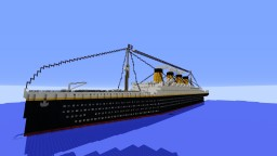 RMS Titanic (With Full Interior) Minecraft Project