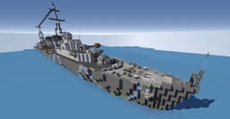 Tribal Class Destroyer Minecraft Map & Project