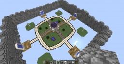 4 Portal Hub By xMrSlime [First Project] Minecraft Map & Project